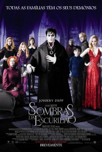 Poster do filme Sombras na Escuridão / Dark Shadows (2012)