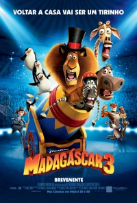 Poster do filme Madagáscar 3 / Madagascar 3 - Europe's Most Wanted (2012)