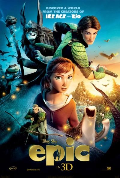 """Novo poster para """"Epic"""""""