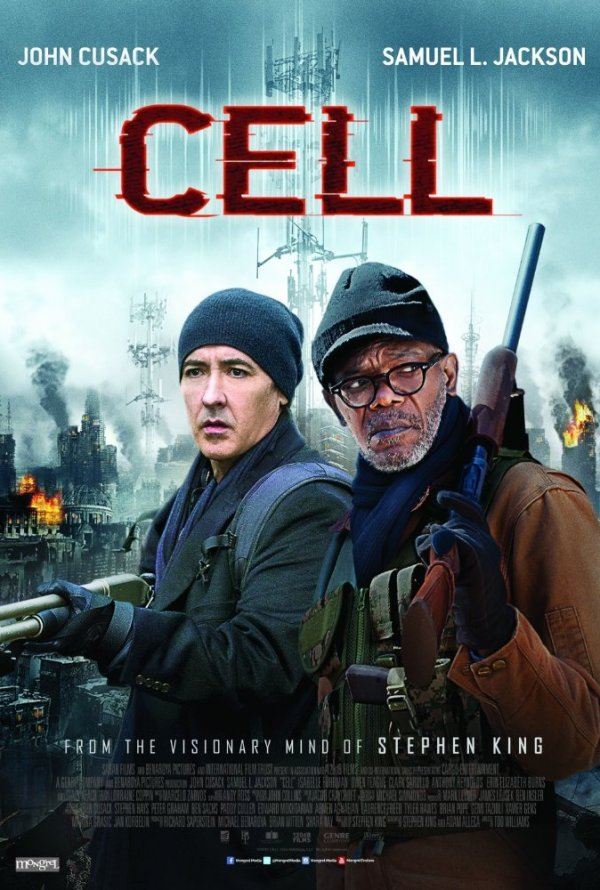 """Novo poster para """"Cell: Chamada Para a Morte"""" (Cell)"""