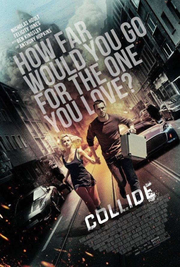 """Novo poster para """"Collide"""""""