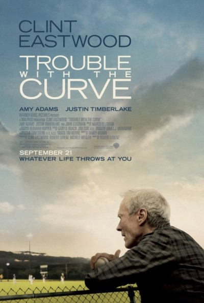 Altera&ccedil;&atilde;o na data de estreia: &quot;Trouble with the Curve&quot;