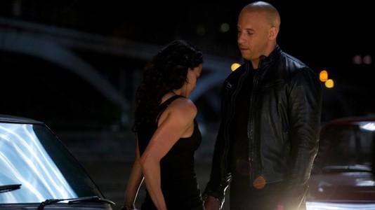 """Vin Diesel e Michelle Rodriguez em """"Fast Six"""""""