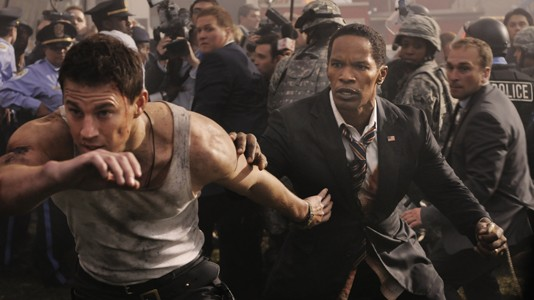 "Novo poster e trailer para ""White House Down"""