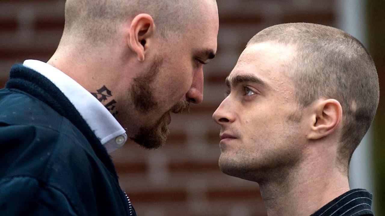 """Daniel Radcliffe é um cabeça rapada no trailer de """"Imperium"""""""
