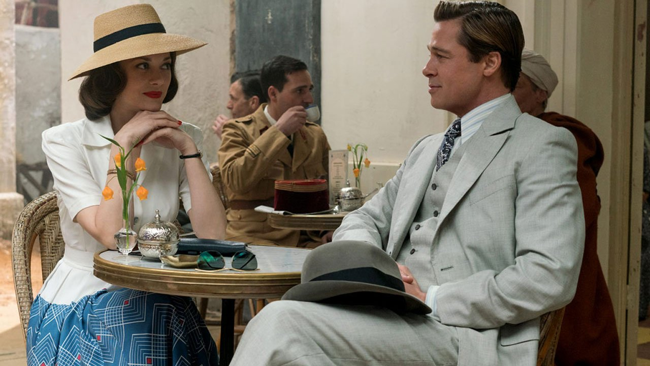 Marion Cotillard e Brad Pitt são aliados no novo filme de Robert Zemeckis