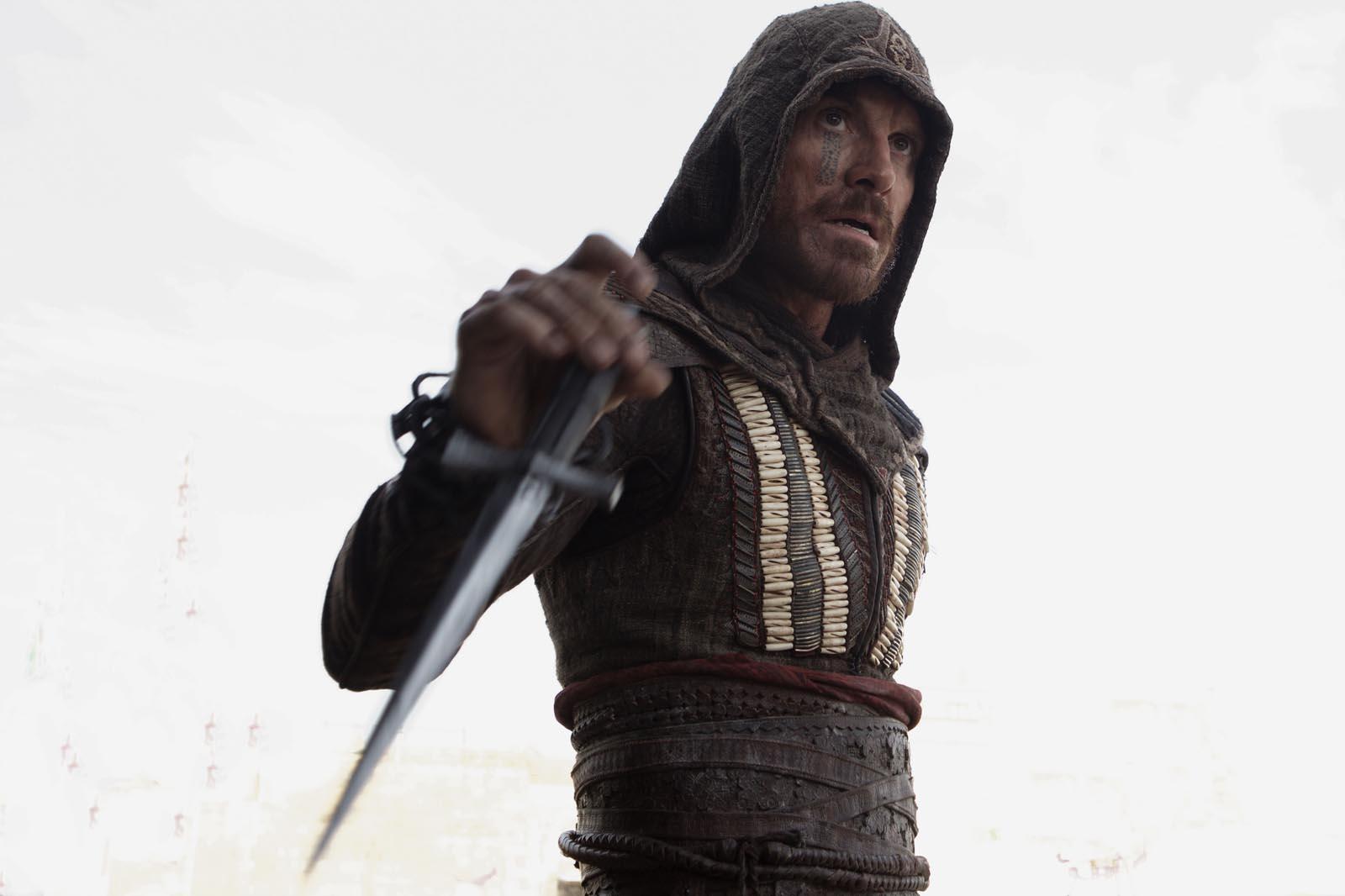 "Assassin's Creed 7/8: Em ""Assassin's Creed"" Michael Fassbender interpreta um duplo papel."