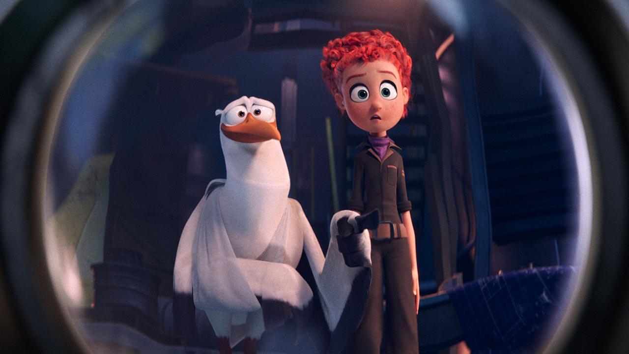 """Personagens e vozes portuguesas do filme de animação """"Cegonhas"""""""
