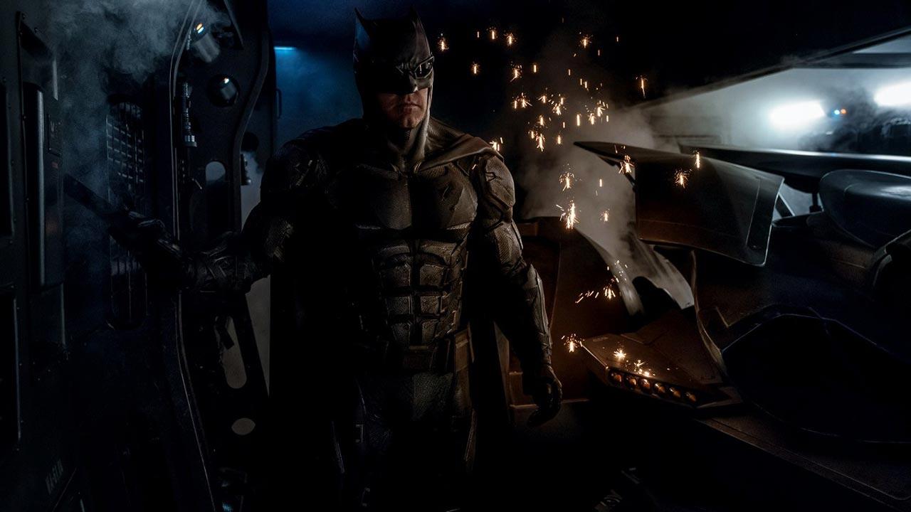 """""""The Justice League"""": Batman tem um fato novo"""