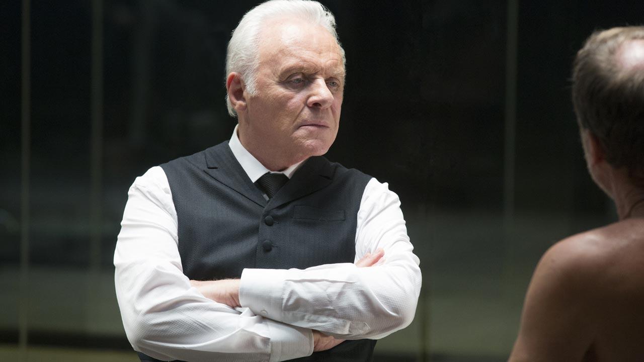 Westworld - primeira temporada 7/7: Anthony Hopkins é o Dr. Robert Ford, brilhante diretor criativo de Westworld.