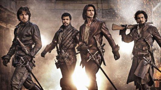 """""""The Musketeers"""": imagem oficial da nova minissérie da BBC"""