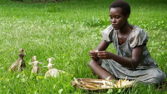 """Pais de Lupita Ngong'o viram finalmente a filha em """"12 Anos Escravo"""""""