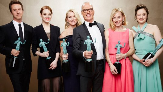 "SAG Awards: atores dão prémio a ""Birdman"" mas desprezam Michael Keaton"