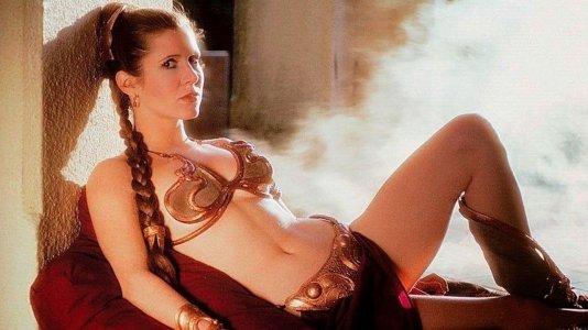 """Biquini da Princesa Leia de """"Star Wars"""" vendido em leilão"""