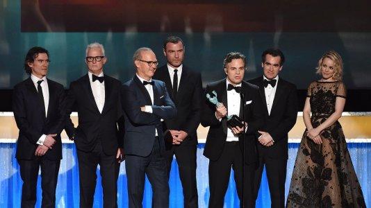"""""""O Caso Spotlight"""" vence prémios do sindicato dos atores"""