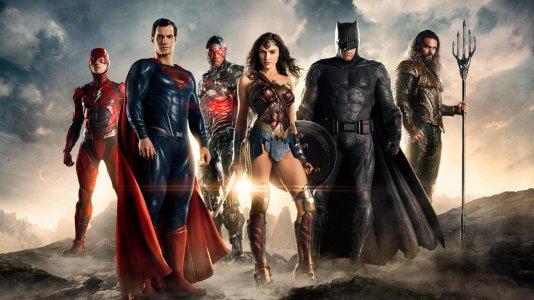 """Primeiras imagens do filme """"The Justice League"""""""