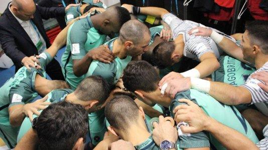 Portugal nos quartos-de-final do Mundial de Futsal - competição em direto nos canais Eurosport