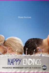 Poster da série Tudo Acaba Bem / Happy Endings (2011)
