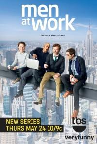 Poster da série Homens Trabalhando / Men at Work (2012)