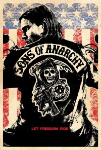 Poster da série Sons of Anarchy (2008)