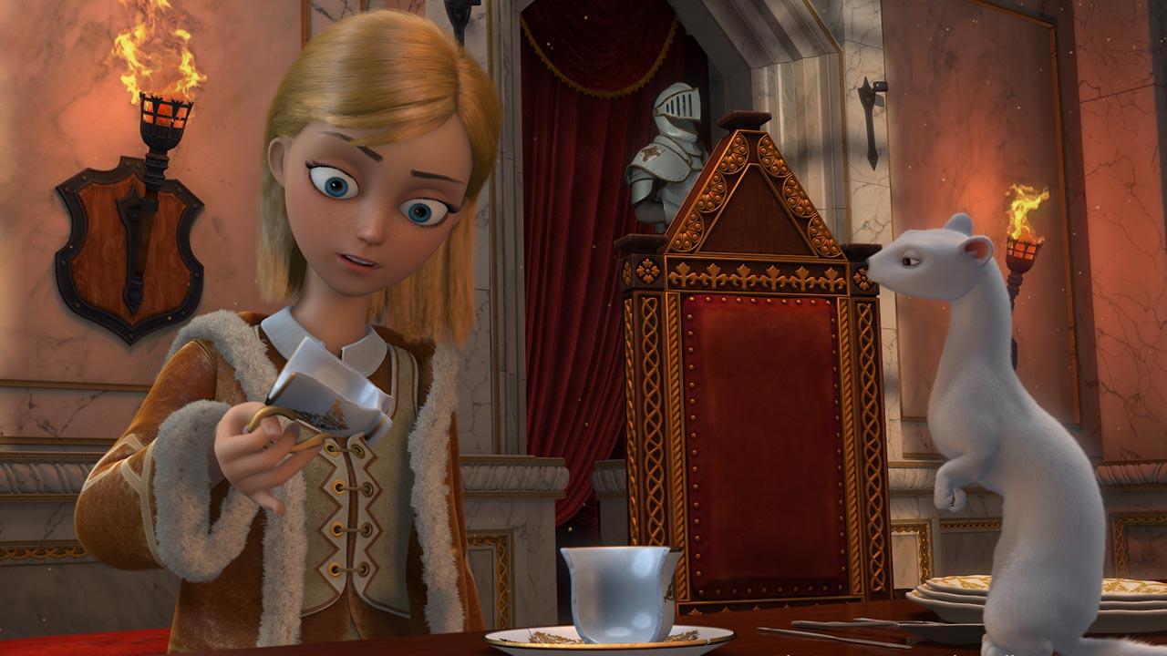 Snow - Uma Viagem Heróica / Snezhnaya koroleva / Snow Queen (2012)