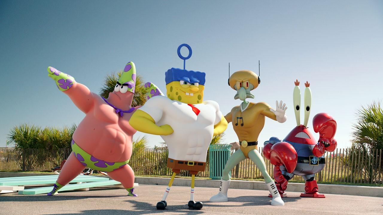 SpongeBob: Esponja Fora De Água / The SpongeBob Movie: Sponge Out of Water (2015)