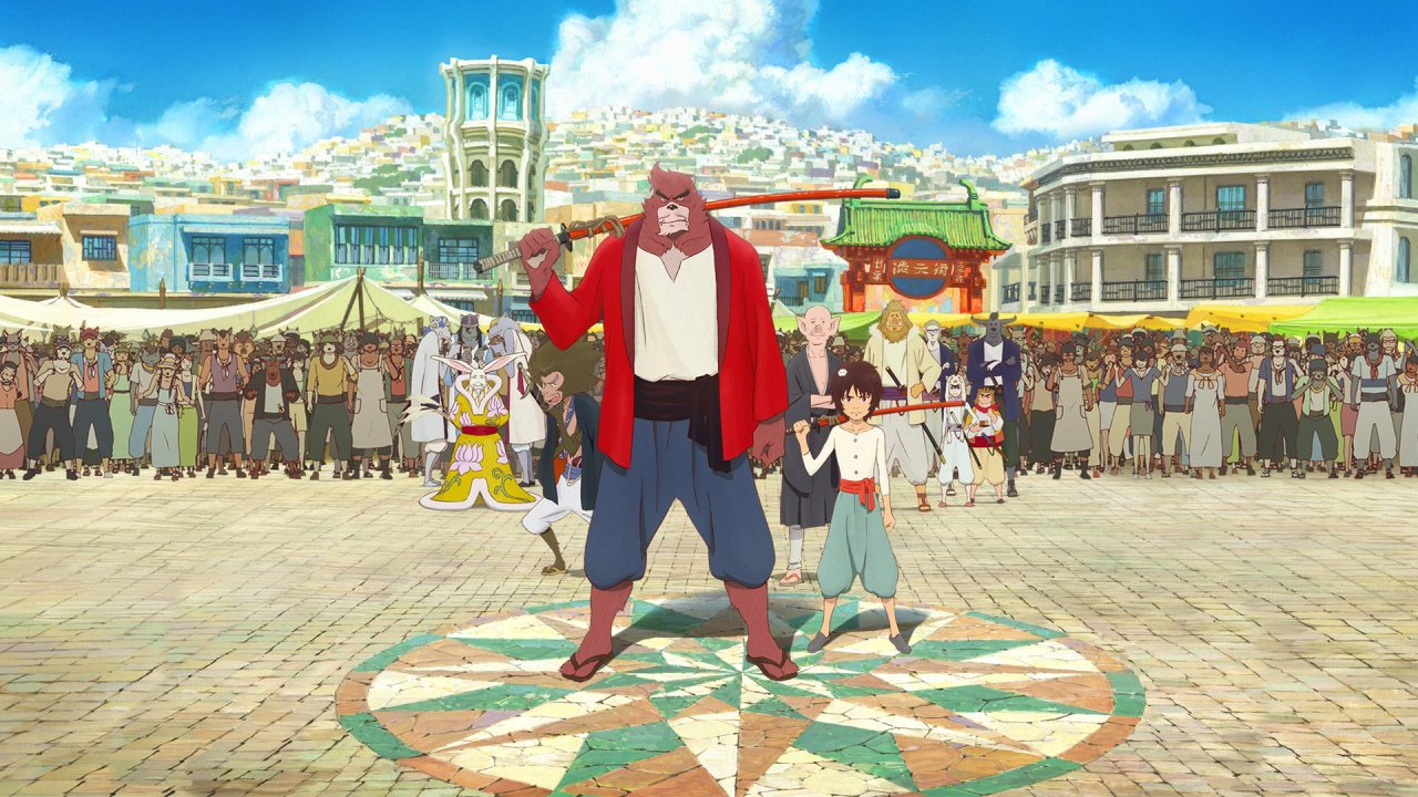 O Rapaz e o Monstro / Bakemono no ko / The Boy and the Beast (2015)