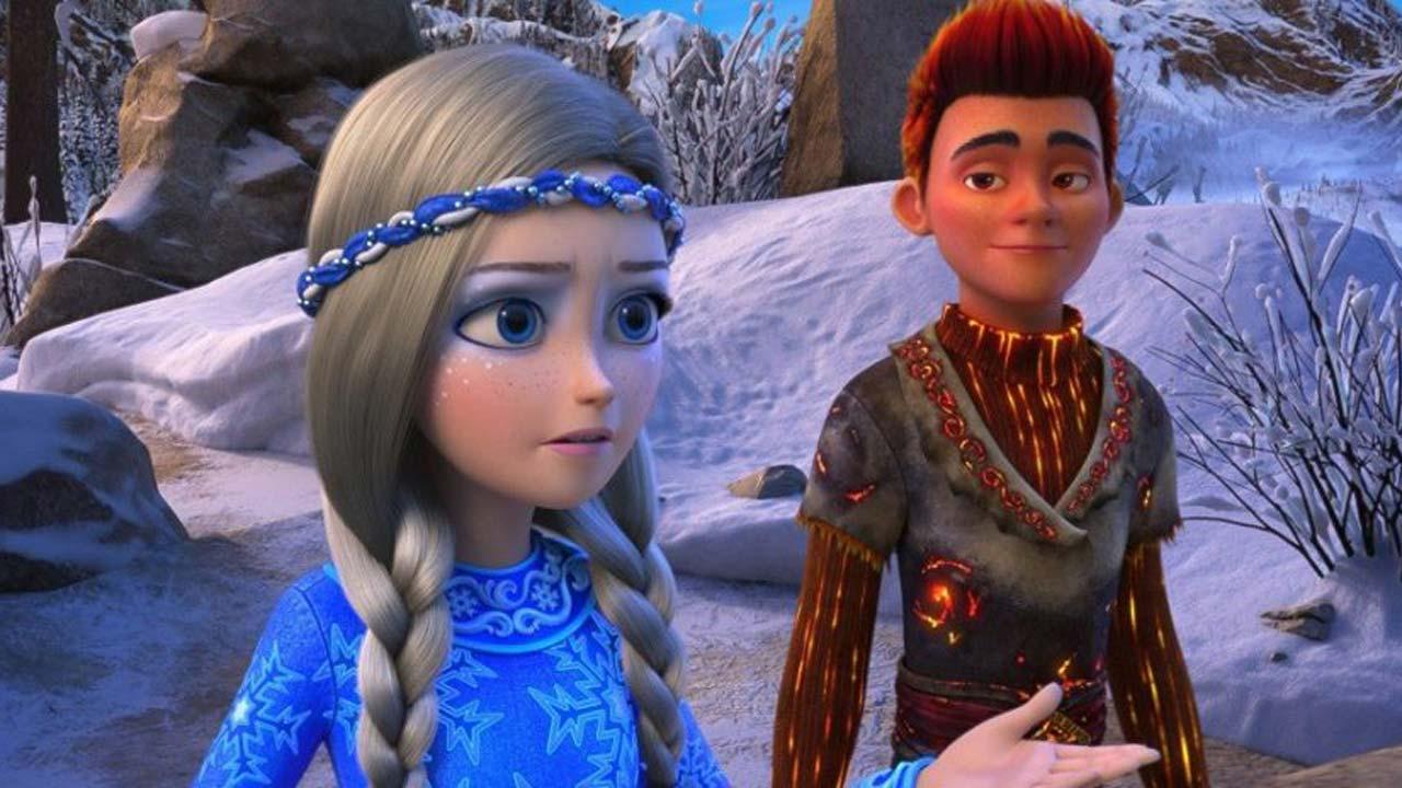Snow: A Pedra dos Desejos / Снежная королева 3. Огонь и лед / The Snow Queen 3: Fire and Ice (2016)