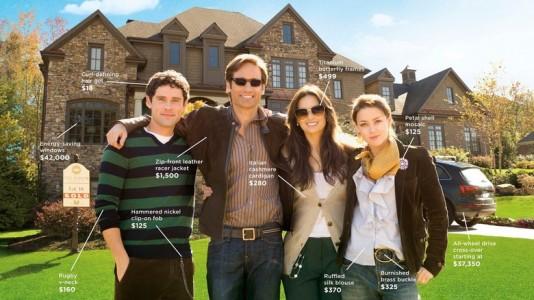 Poster Uma Família Com Etiqueta / The Joneses (2010)