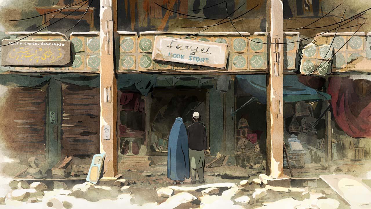 As Andorinhas de Cabul / Les Hirondelles de Kaboul (2019)