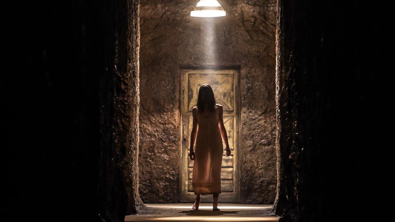 No Centro do Labirinto / L'uomo del labirinto (2019)