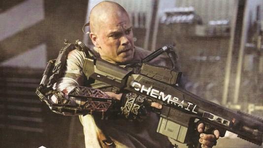 """""""Elysium"""": Matt Damon perde o cabelo para salvar o mundo"""