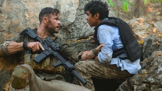 """Netflix apresenta o trailer de """"Tyler Rake: Operação de Resgate"""" com Chris Hemsworth"""