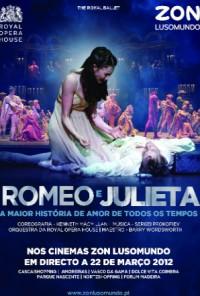 Poster do filme Bailado Romeu e Julieta / Romeo e Julieta (2012)