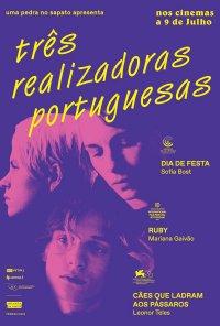 Poster do filme Três Realizadoras Portuguesas (2020)
