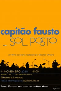 Poster do filme Sol Posto - Um filme concerto dos Capitão Fausto (2020)