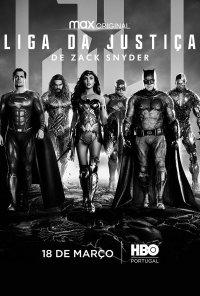 Poster do filme Liga da Justiça, de Zack Snyder / Zack Snyder's Justice League (2021)