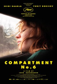 Poster do filme Hytti nro 6 / Compartment No.6 (2021)
