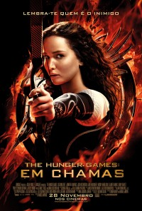 Poster do filme The Hunger Games: Em Chamas / The Hunger Games: Catching Fire (2013)