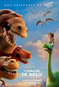 Poster do filme A Viagem de Arlo / The Good Dinosaur (2015)