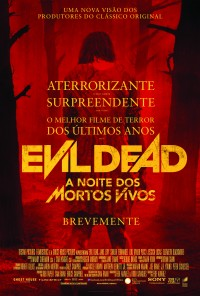 Poster do filme A Noite dos Mortos Vivos / The Evil Dead (2013)