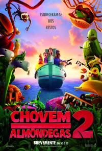 Poster do filme Chovem Almôndegas 2 / Cloudy 2: Revenge of the Leftovers (2013)