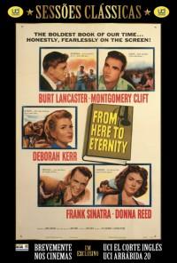 Poster do filme Até à Eternidade / From Here to Eternity (1953)