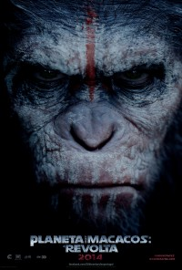 Poster do filme Planeta dos Macacos: A Revolta / Dawn of the Planet of the Apes (2014)
