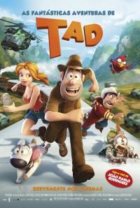 Poster do filme As Fantásticas Aventuras de Tad / Las aventuras de Tadeo Jones (2012)