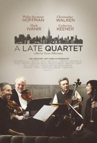 Poster do filme Um Quarteto Único / A Late Quartet (2012)