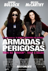 Poster do filme Armadas e Perigosas / The Heat (2013)