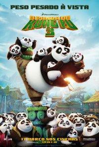 Poster do filme O Panda do Kung Fu 3 / Kung Fu Panda 3 (2015)