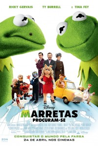 Poster do filme Marretas Procuram-se / Muppets Most Wanted (2014)