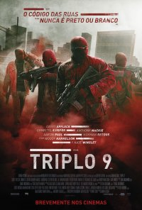 Poster do filme Triplo 9 / Triple Nine (2015)